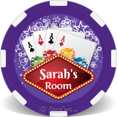 Four of a Kind Custom Poker Chips