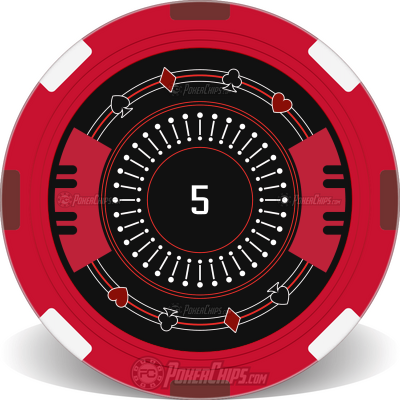 Suited Set Custom Poker Chips